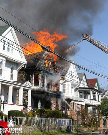 2 Alarm Dwelling Fire - 358 S 10th Ave, Mount Vernon, NY - 4/12/20
