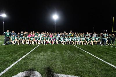 2019-10-18 - Football Senior Night Photos