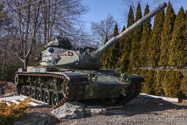 VFW Post 2547 -  Easton, MA - M60A3