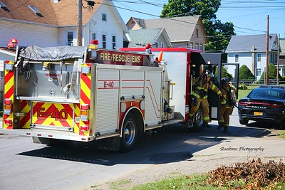 Structure Fire - Olean, NY - 08/20/2020