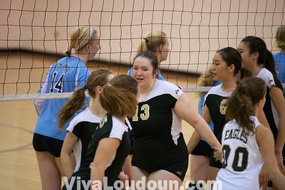 Girls Volleyball: Freedom at Stone Bridge Freshman (by Jeff Scudder)