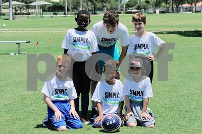 Simply Soccer camp Week 5 2018