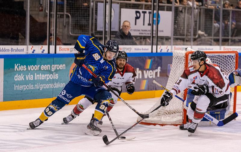 Ijshockey Tilburgtrappers - Hamburg