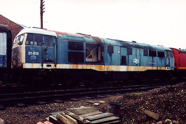 31418 at Loughborough (GCR) on the 25th March 2001