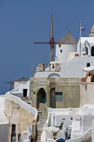 Oia village in summer, Santorini