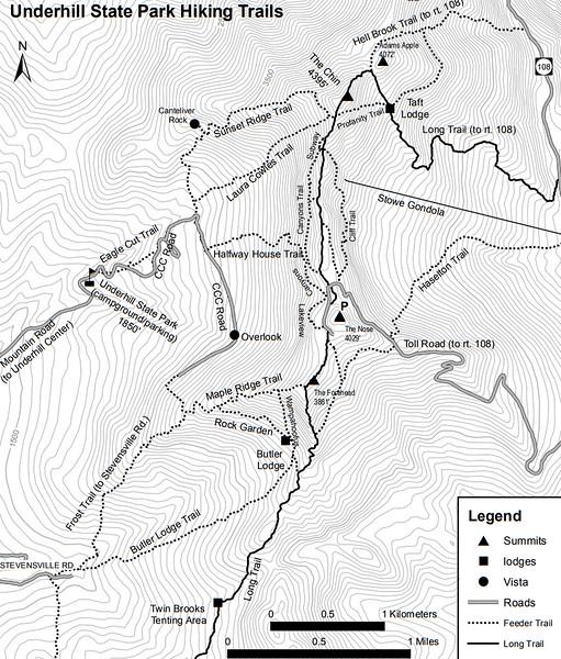 Underhill State Park (Trails)