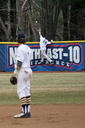 April 13, 2014. SNHU vs Assumption College Game 1 of a doubleheader