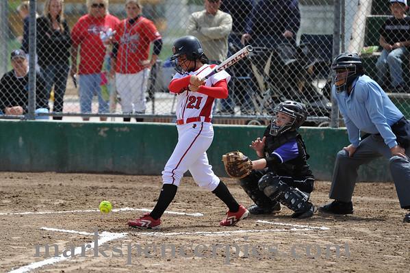 Softball State Playoffs Uintah vs Lehi May 2010