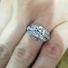 1.95ct Old European Cut Diamond Art Deco Ring, GIA L SI1 11