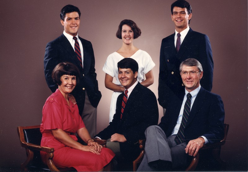 Larry Werts Family 1987