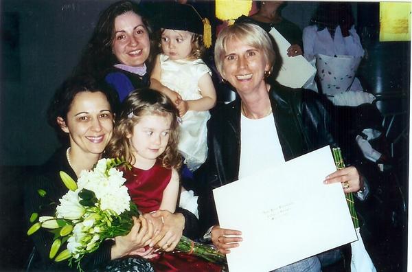 Dana graduate, 2005