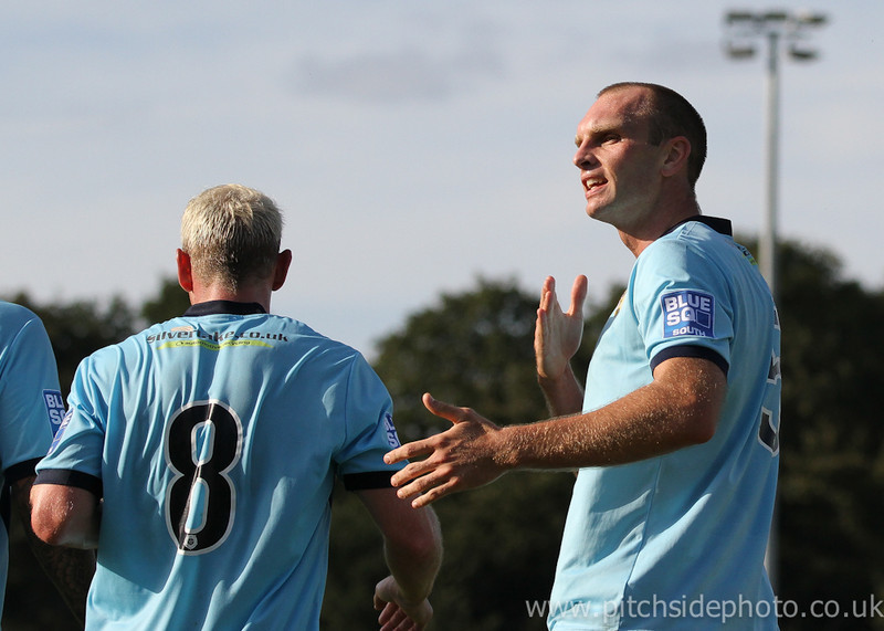 "Eastleigh 4 Maidenhead united 2, Blue Square South, 15th September 2012                 Print: 7"" x 5"" - UK£3.50  Print: 10"" x 8"" - UK£5.00 Print: 14"" x 10"" - UK£8.00"