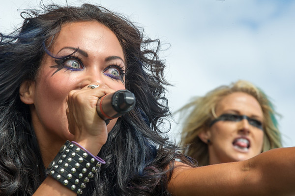 Butcher Babies Mayhem 2013