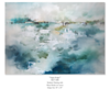 Aqua Scape-Rei, 36x50 on canvas