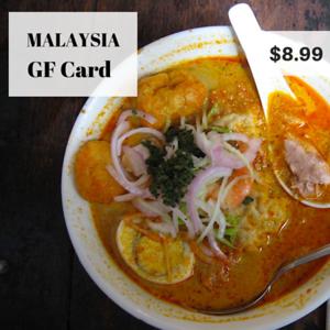 Gluten free malaysia celiac guide