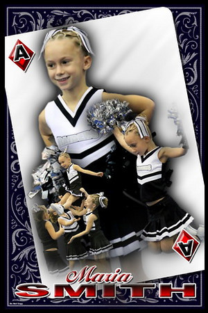 Cheerleading Poster Choices
