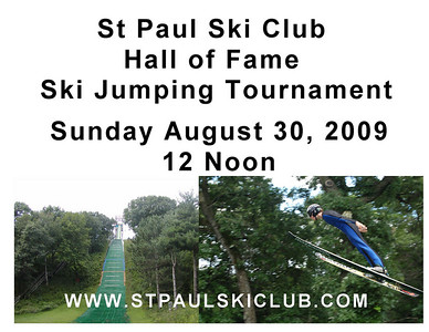 Hall of Fame Ski Jumping Tournament:  August 30, 2009