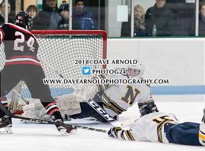 1/24/2018 - Boys Varsity Hockey - Wellesley vs Needham