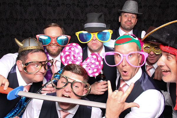 Trina and Mike - Photo Booth