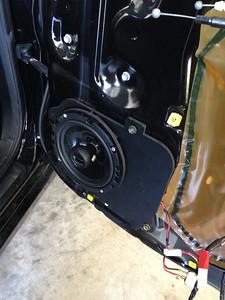 2001 Lexus GS 300 Rear Speaker Installation - USA