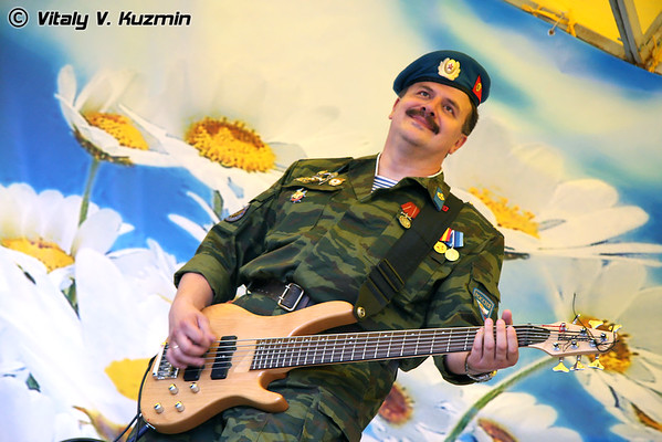 """Concert of official Russian VDV music group """"Blue Berets"""""""