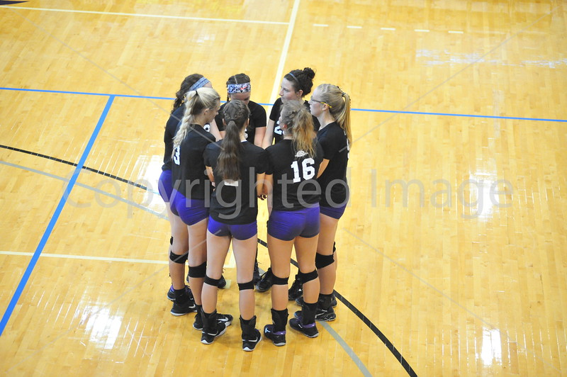 Bluffton Volleyball 082718 Scrimmage Wooster