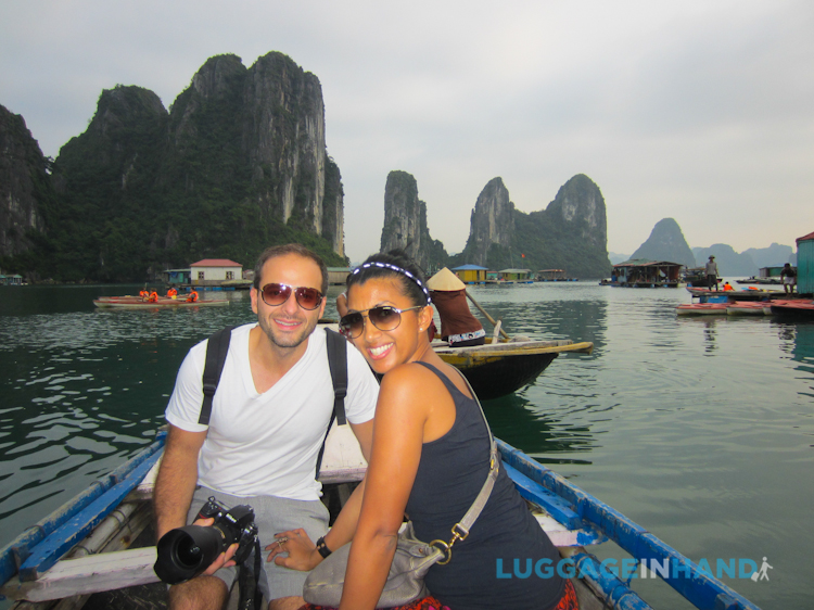 career break travel adventures in Vietnam, Luggage in Hand