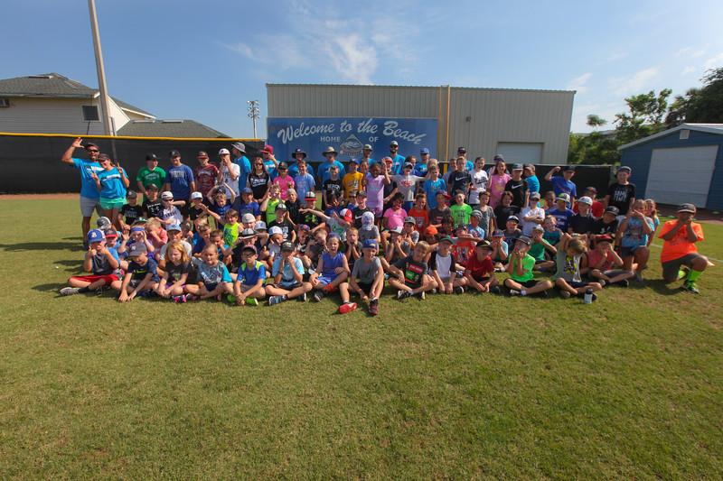 Iron Diamond Sports' Baseball Camp, June 21, 2018, Wingate Park