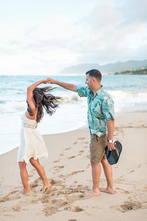 Chris & Natalie | Hawaiian Portraits