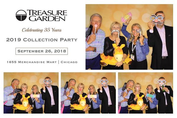 """Treasure Garden """"2019 Collection Party"""""""