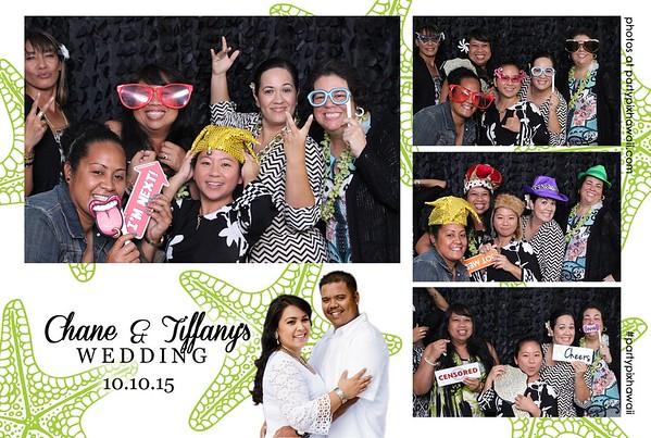 Chane & Tiffany's Wedding (Mini Open Air Photo Booth)