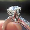.81ct Old European Cut Diamond in Brian Gavin Setting 8