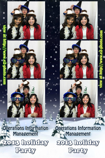 2013 OIM Holiday Party
