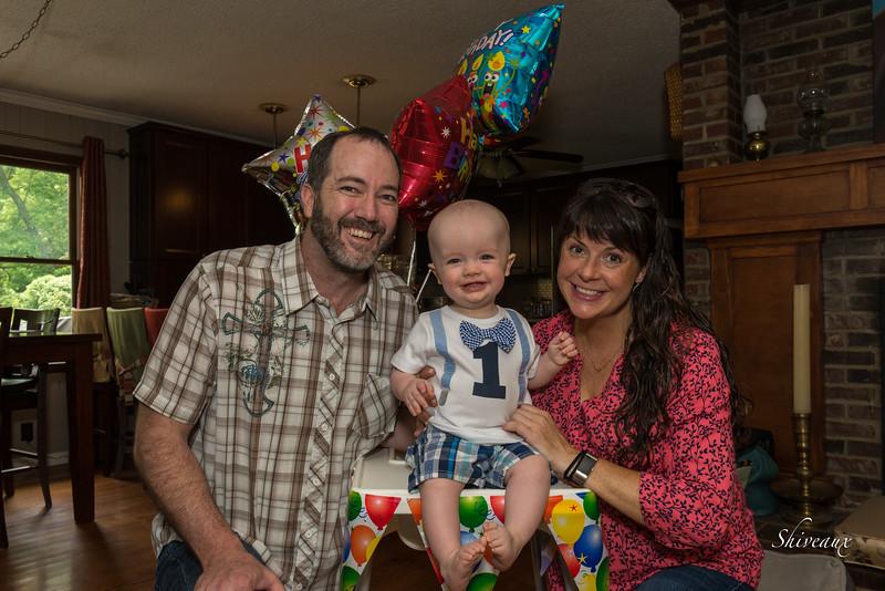 Haddon's First Birthday