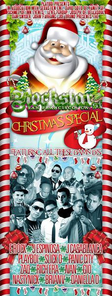 Playboi Presents ROCKSTAR Christmas Special @ ROE 12.25.10