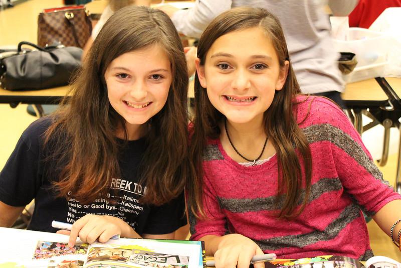 Yearbooks Claudi Lugo and Bryn Taunton.JPG