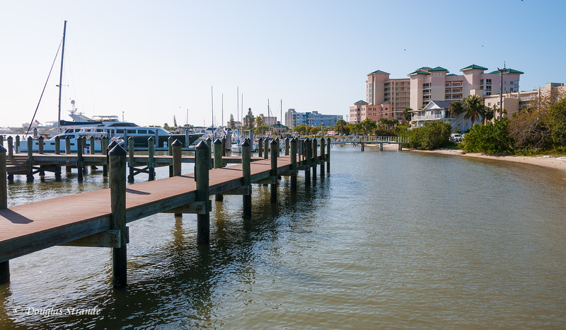 View of Pink Shell Resort from the Marina