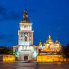 Night on St Michael's Monastery, Kiev, Ukraine