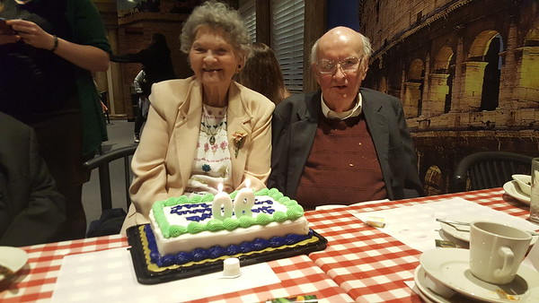 Gran's 90th Birthday dinner