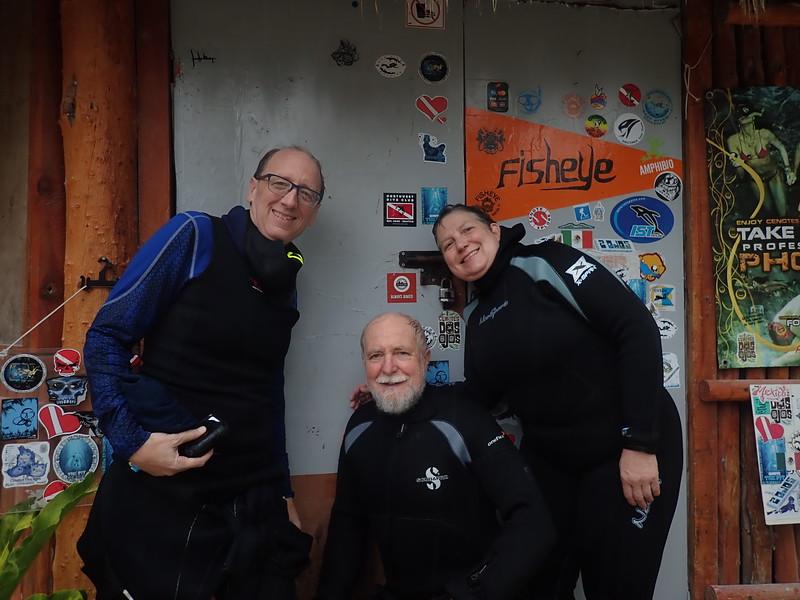 Carl, Nanci, Jan at Dos Ojos cenote.jpg