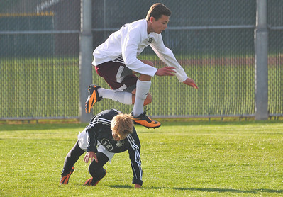JHS Soccer vs Brighton Game 2