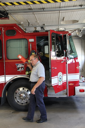 Whitman Ma. Fire Lt. Bob Hover's Retirement Ceremony 08/31/20