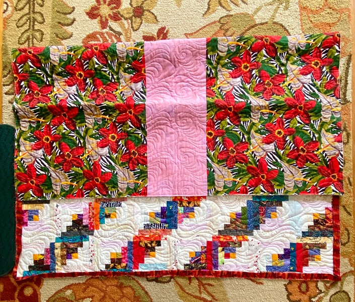 Scrap Log Cabin Quilt  by John Putnam
