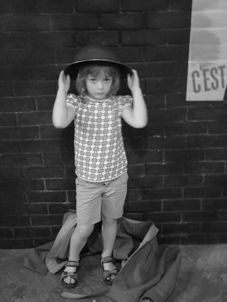 Vintage photo of Dana circa WW1 - Taken in 2008