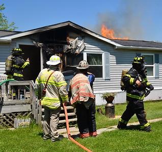 House Fire - Coe Rd, Livonia, NY - 6/9/20