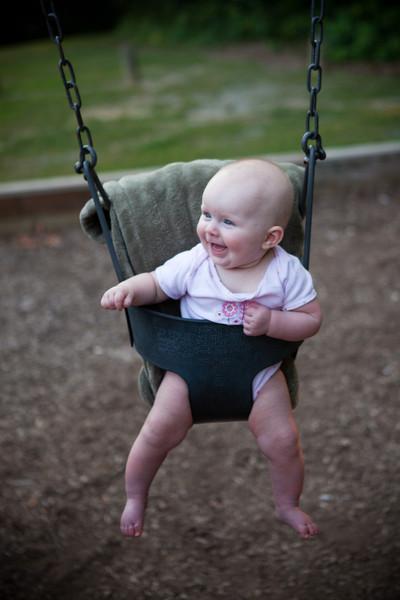 1st time swinging