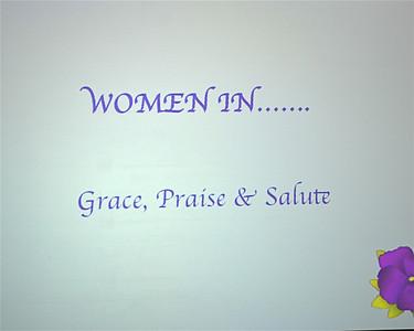 Saint Matthew Church, Salute To Women, April 26, 2013