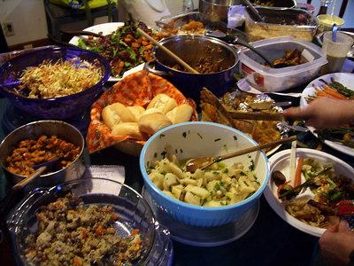Vegan Thanksgiving 2006