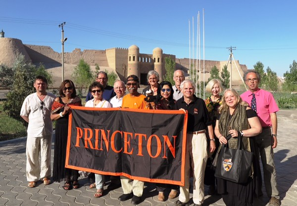 Princeton group in Khiva - Kim Lane Scheppele