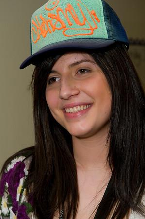 Hat Day at Dellridge, Jan. 2010